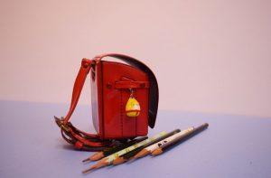 ランドセルと鉛筆