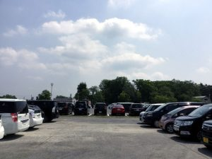 むさしの村・西駐車場