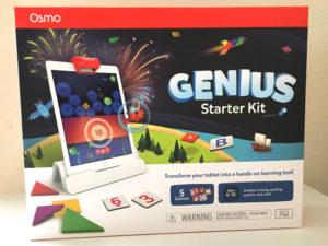 Osmo(オズモ)ジーニアス スターターキットfor iPadのパッケージ