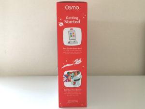 Osmo(オズモ)ジーニアス スターターキットfor iPadのパッケージ横から