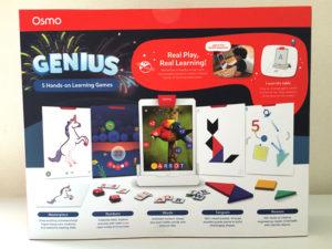 Osmo(オズモ)ジーニアス スターターキットfor iPadのパッケージ裏